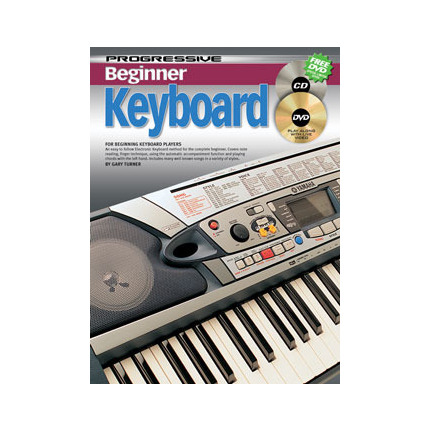 Progressive Beginner Keyboard Bk/Cd/Dvd 69166