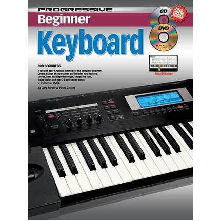 Progressive Beginner Keyboard Small Package
