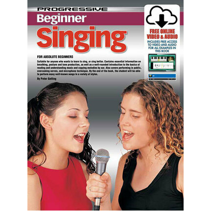 Progressive Beginner Singing Book/Online Media