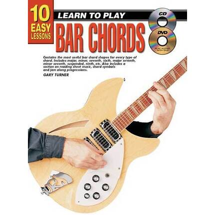 10 Easy Lessons Learn To Play Bar Chords