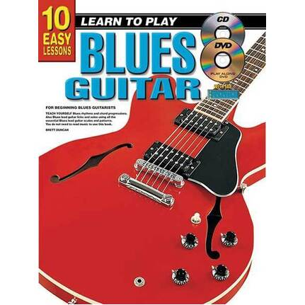 10 Easy Lessons Learn To Play Blues Guitar