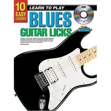 10 Easy Lessons Learn To Play Blues Guitar Licks