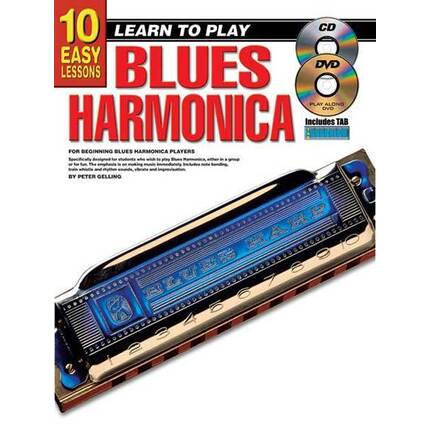 10 Easy Lessons Learn To Play Blues Harmonica