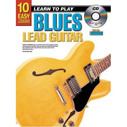 10 Easy Lessons Learn To Play Blues Lead Guitar
