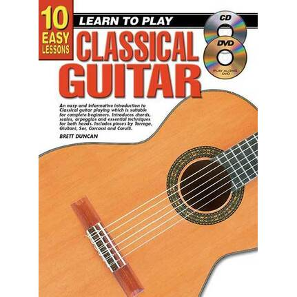 10 Easy Lessons Learn To Play Classical Guitar