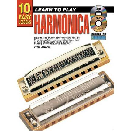 10 Easy Lessons Learn To Play Harmonica