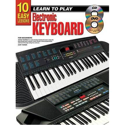 10 Easy Lessons Learn To Play Keyboard