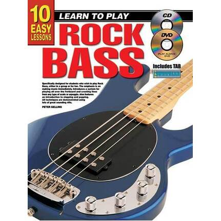 10 Easy Lessons Learn To Play Rock Bass