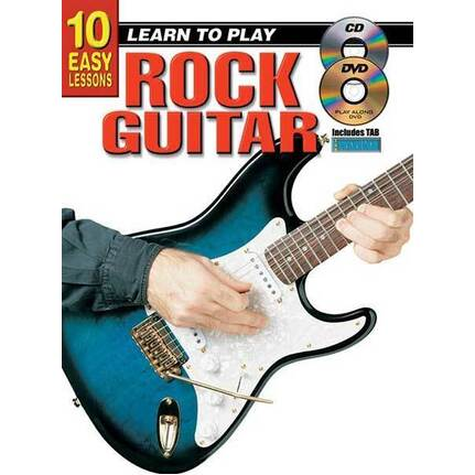 10 Easy Lessons Learn To Play Rock Guitar
