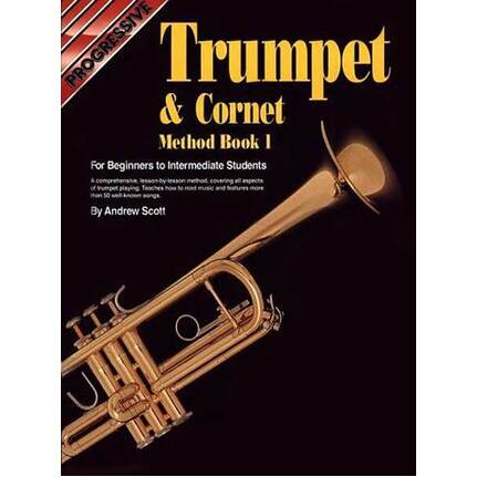 Progressive Trumpet & Cornet Method