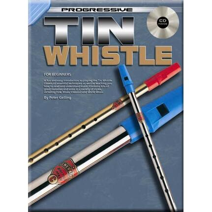 Progressive Tin Whistle Bk/Cd 69262