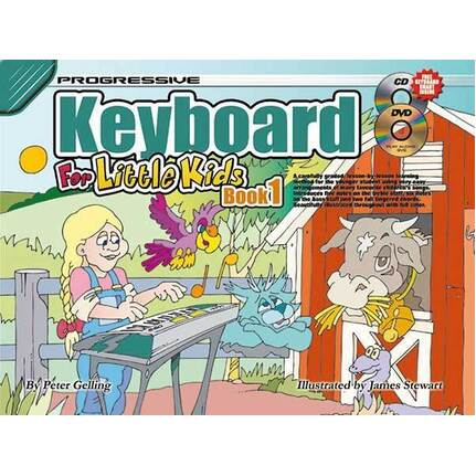 Progressive Keyboard Bk 1 For Little Kids