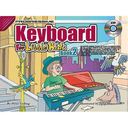 Progressive Keyboard Bk 2 For Little Kids