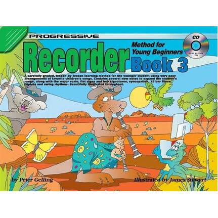 Progressive Recorder Bk 3 For Young Beginners