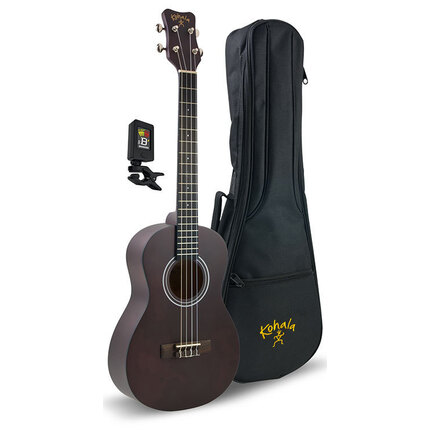Kohala Baritone Player'S Pack With Ukulele, Bag And Tuner