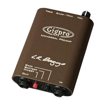 LR Baggs Gigpro Belt Clip Preamp For Acoustic Guitar