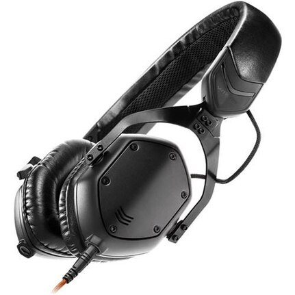 V-Moda Crossfade M100 Over-Ear Wired Headphones Matte Black Metal Finish