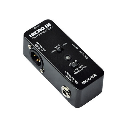 Mooer Micro Di - Direct Input Box-Compact Guitar Pedal Size