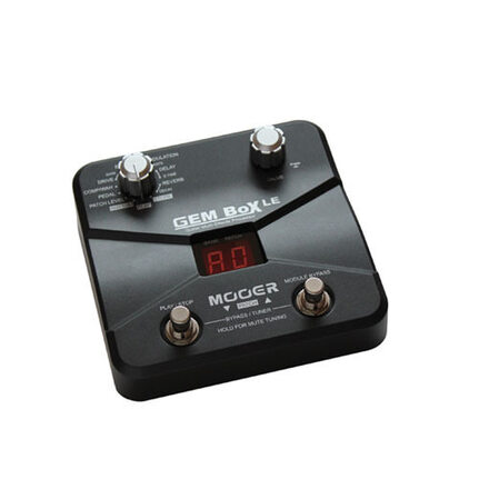 Mooer Gemboxle Guitar Multi-Efx Unit Floorboard With Memory Onboard