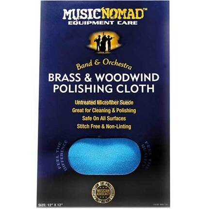 Music Nomad Mn730 Brass & Wind Polishing Cloth