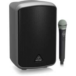 Behringer BEMPA100BT Europort MPA100BT All-in-One Portable 100W PA System With Wireless Microphone