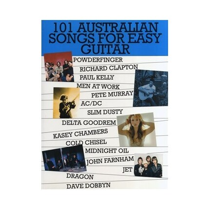 101 Australian Songs for Easy Guitar Book 1