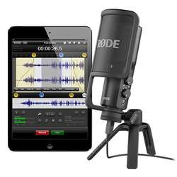 Rode NT-USB Versatile Studio Quality Microphone Plug & Play with PC, Mac, iPad & More