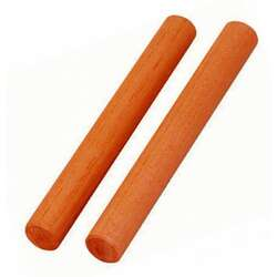 Opus Percussion OPT22 Malas Wood Claves (1 Pair)