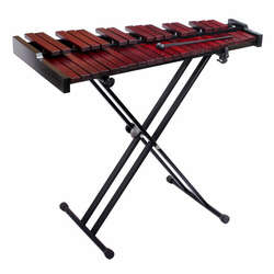 Opus Percussion 37-Note Rosewood Xylophone w/Stand, Carry Bag