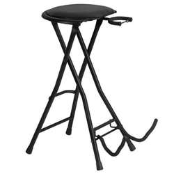 On Stage OSDT7500 Guitarist Stool With Footrest And Guitar Stand