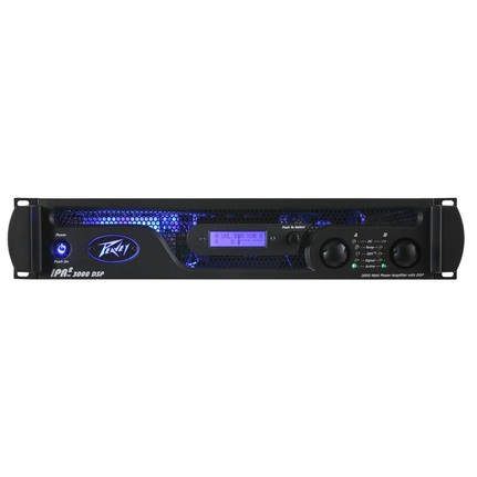 Peavey IPR2 3000 DSP 2900W Class D Power Amplifier with DSP