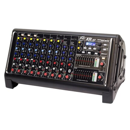 Peavey XR-AT 1500W 9-Channel Powered Mixer w/FX, Bluetooth + Autotune