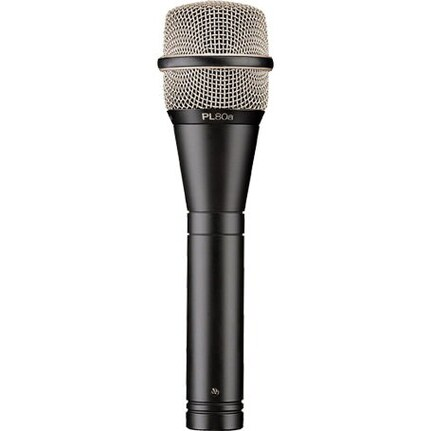 EV PL80A Vocal Microphone, Dynamic, Supercardioid