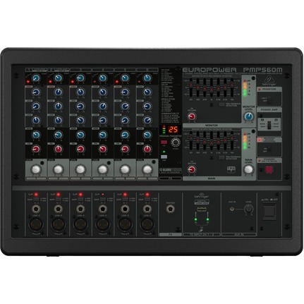 Behringer Pmp560M Powered Mixer