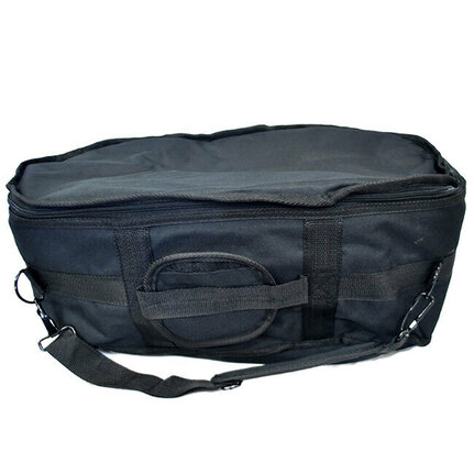 Percussion Plus Bongo Carry Bag in Black Canvas