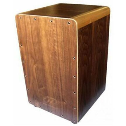 Opus Percussion Wooden Cajon Walnut w/Deluxe Carry Bag