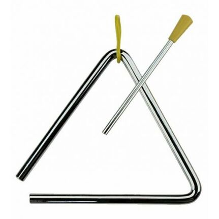 "Percussion Plus 10"" Triangle with Striker"