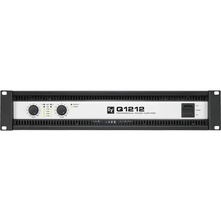 Ev Q1212 Power Amplifier, 2 X 1200 Watts At 4 Ohms, 2U,