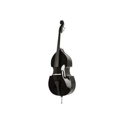Stentor - Rock-A-Billy Double Bass Outfit 3/4 Size (Black Finish)