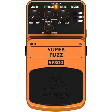 Behringer Sf300 Effects Pedal