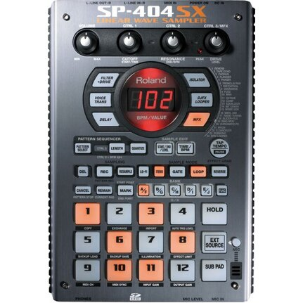 Roland SP-404SX Linear Wave Sampler with Built-In Mic Effects