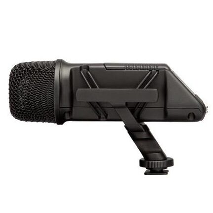 Rode Stereo Videomic On-Camera Stereo Condenser Microphone Integrated Shockmount, Hpf And Pad Connect Directly To Consumer Video Cameras.