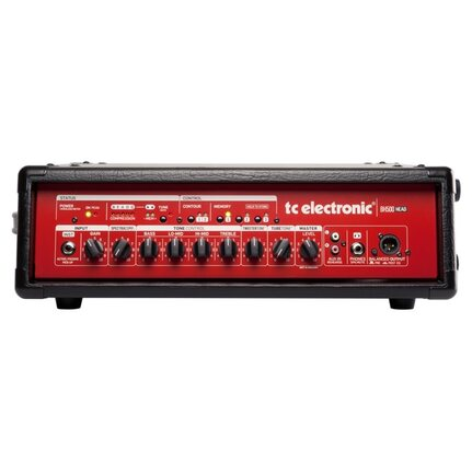 TC Electronic Bh500 Bass Head With Presets And Tuner 500-Watts