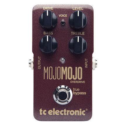 TC Electronic Mojomojo Overdrive Effects