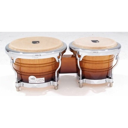 Toca Elite Wood Bongos 7 & 8-1/2-Inch Natural Fade