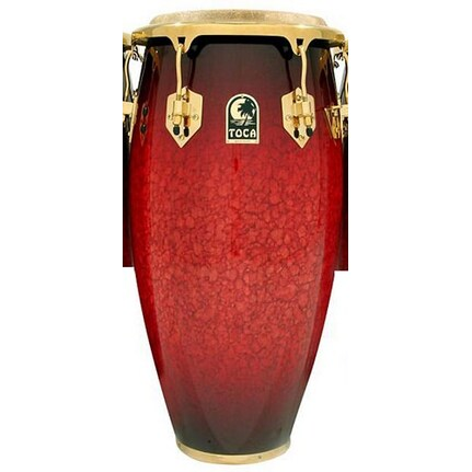 Toca Le Series Wood Conga 11-Inch (Single Conga Without Stands) In Bordeaux