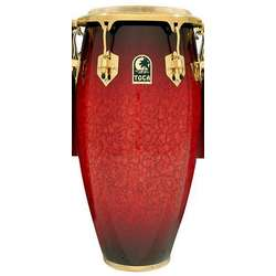 Toca Le Series Wood Conga 12-1/2-Inch (Single Conga Without Stands) In Bordeaux