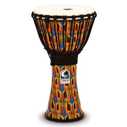 Toca 10-Inch Freestyle 2 Kente Cloth Djembe