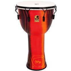 Toca 10-Inch Freestyle 2 Mechanically Tuned Fiesta Djembe