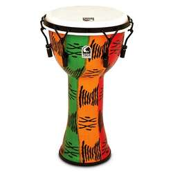 "Toca Freestyle 2 Mechanicially Tuned 10"" Djembe Spirit TF2DM10S"
